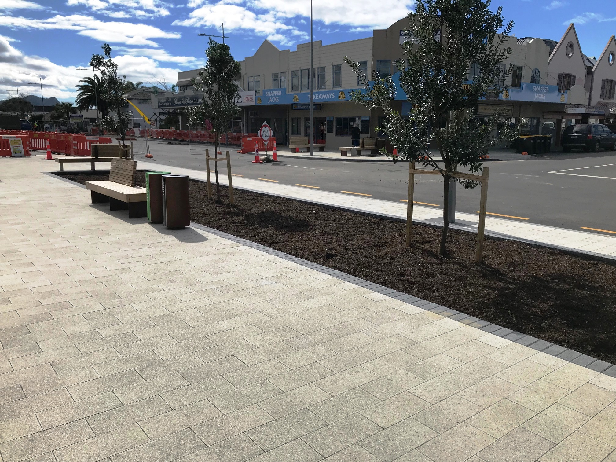 Whitianga Town Centre Upgrade - September