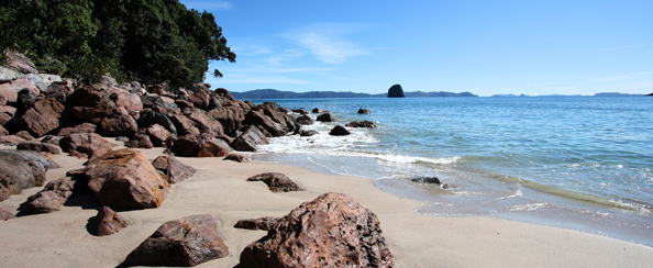 Cathedral Cove summary page banner
