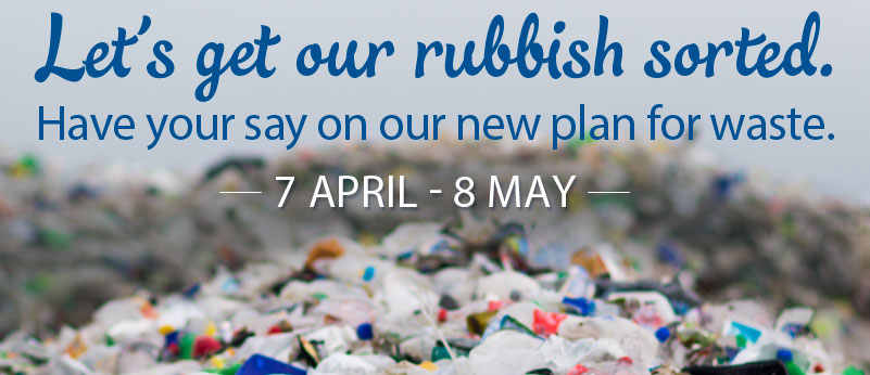 Waste Management and Minimisation Plan banner