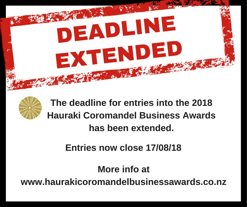 Hauraki Coromandel Business Awards 2018