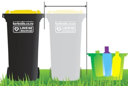 Wheelie bin graphic