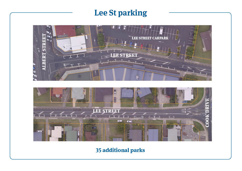Lee St parking