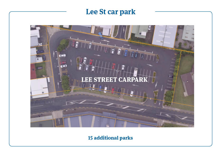 Lee St car park