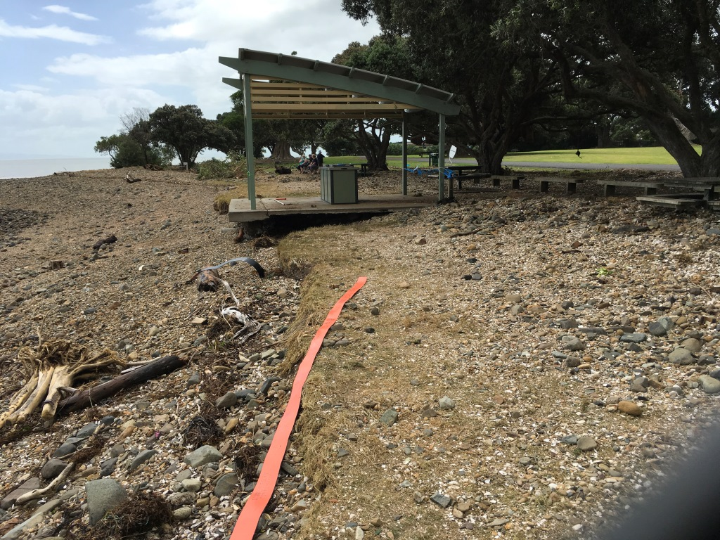 BBQ at Waiomu Beach Reserve - out of action for now