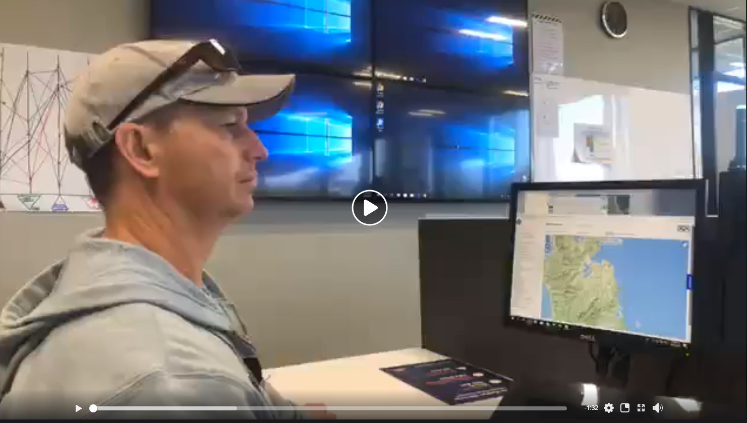ideo - Civil Defence - Waikato: Final update on tsunami warning and the process with Rick Liefting, Team Leader - Regional Hazards and Environmental Compliance, Waikato Regional Council.