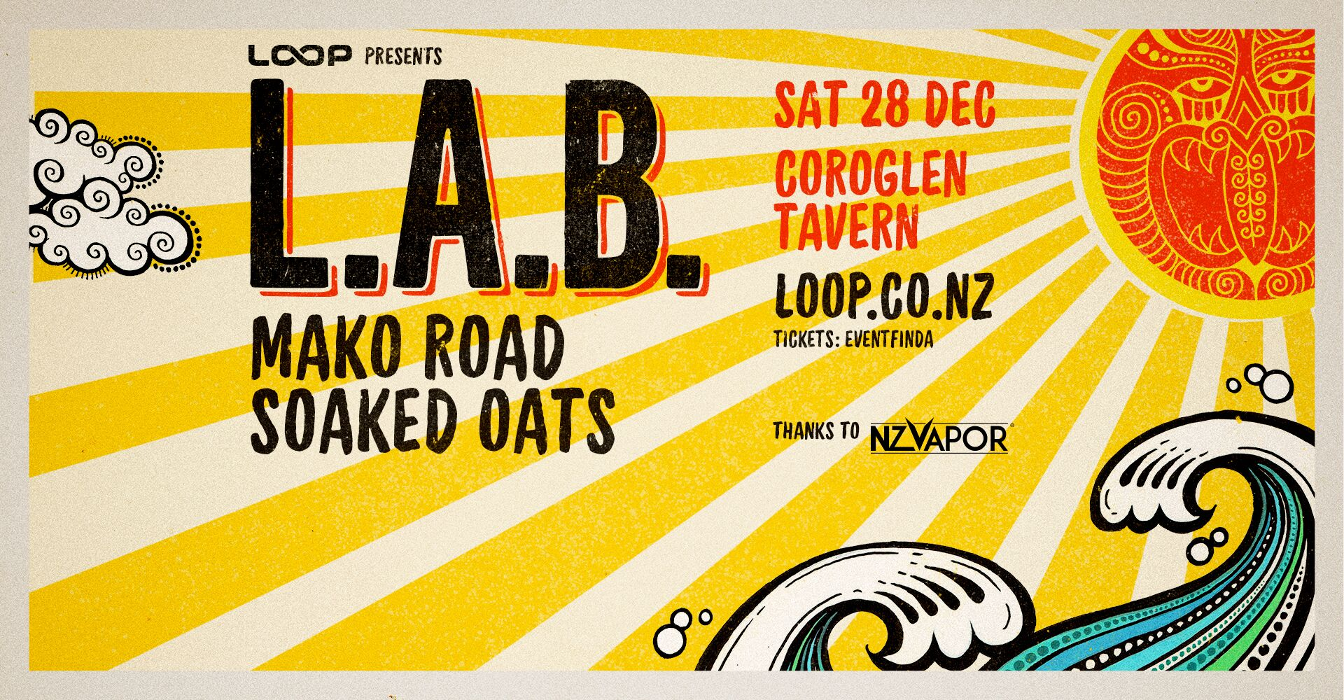 L.A.B with Mako Road and Soaked Oats