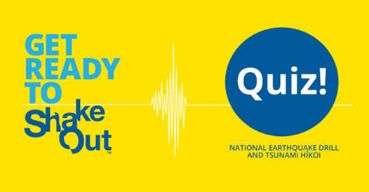 ShakeOut Quiz