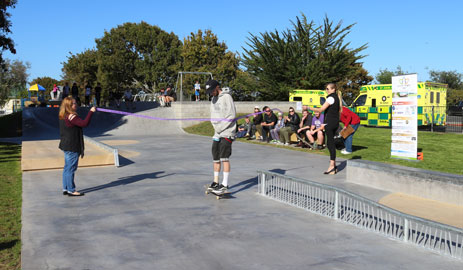 Thames Skate Park official launch 6 May 2017