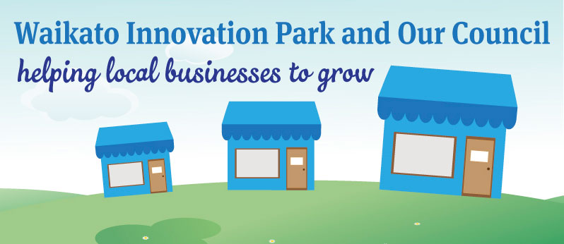 Waikato Innovation Park graphic