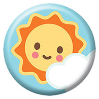 Sunshiny Survey Button